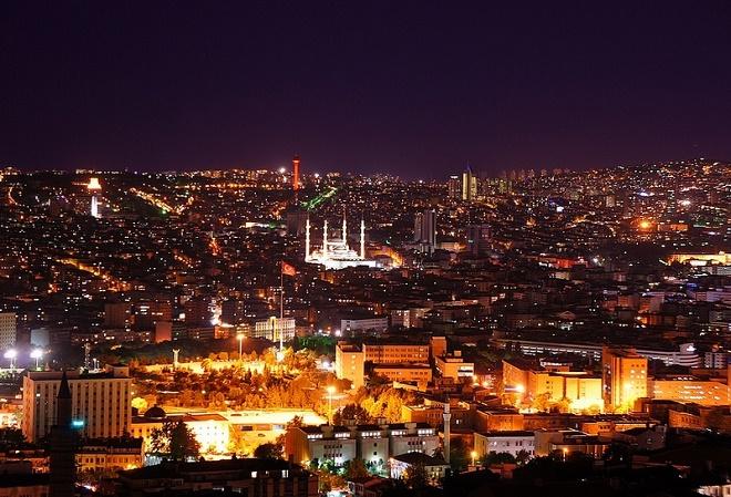 Başkent Ankara'dan bir görüntü.