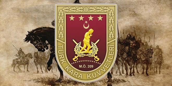 Türk Kara Kuvvetleri'nin kuruluş tarihi olarak, Büyük Hun İmparatoru Mete Han'ın tahta çıkış tarihi olan M.Ö. 209 yılı esas alınmıştır.